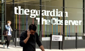 The Guardian's office in London.