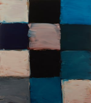 Sex and death in squares ... Robe Magdalena, 2017, by Sean Scully.