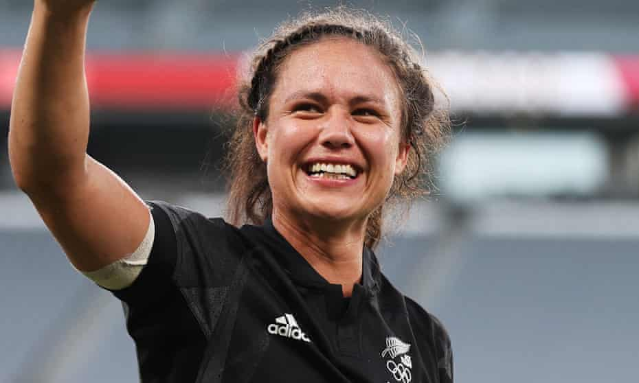 New Zealand rugby sevens player Ruby Tui