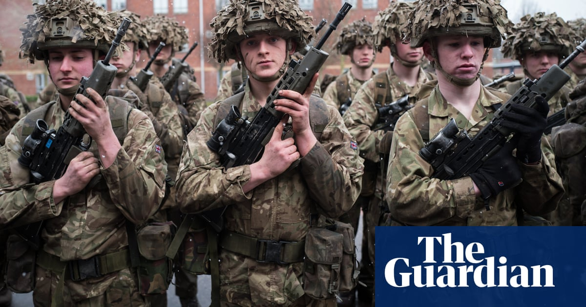 Inside the college that trains the UK's youngest soldiers | UK news