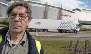 Dutch lorry driver Jacques van Doornewaard