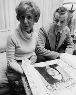 Joseph and Julia Quinlan, parents of Karen, in 1977.