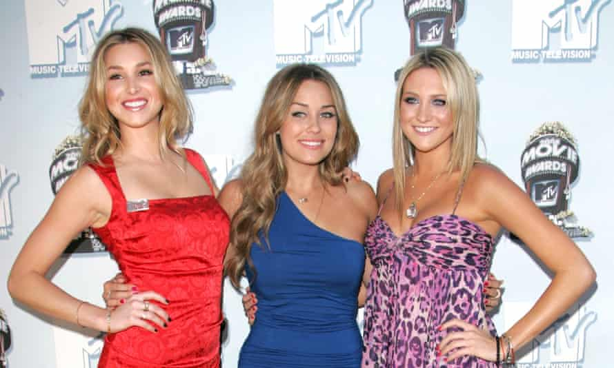 Whitney Port, Lauren Conrad and Stephanie Pratt at the 2008 MTV Movie Awards.