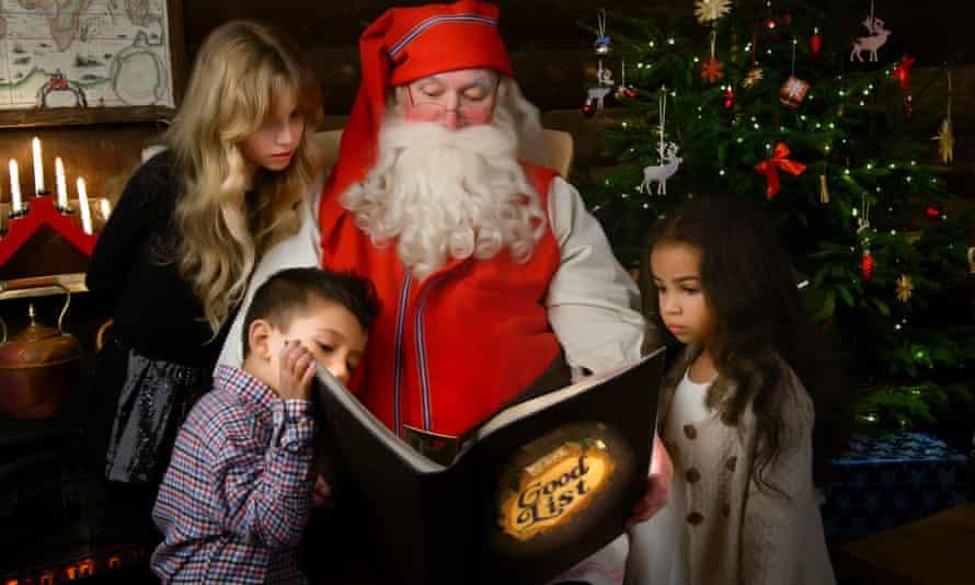Father Christmas: the <em>real</em> one, OK?