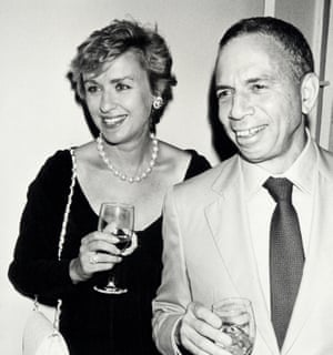 Tina Brown with the 'mercurial and exasperating' Si Newhouse in 1990.