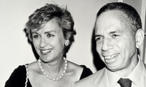 Si Newhouse with Tina Brown in 1990.