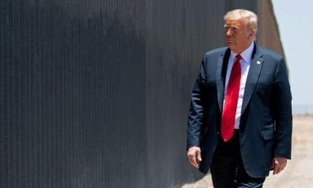 Donald Trump in San Luis, Arizona, on 23 June.