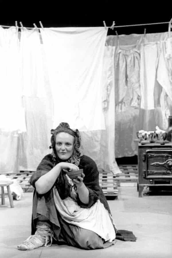 Gillian Hanna in Scum: Death, Destruction and Dirty Washing, 1976.