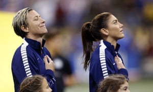 on sale 6d1a0 deb3d Abby Wambach and Hope Solo hit the headlines this year as the US women s  team won