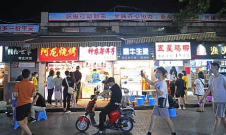 Night markets in Wuhan fill with people once again, after the easing of coronavirus lockdown restrictions.