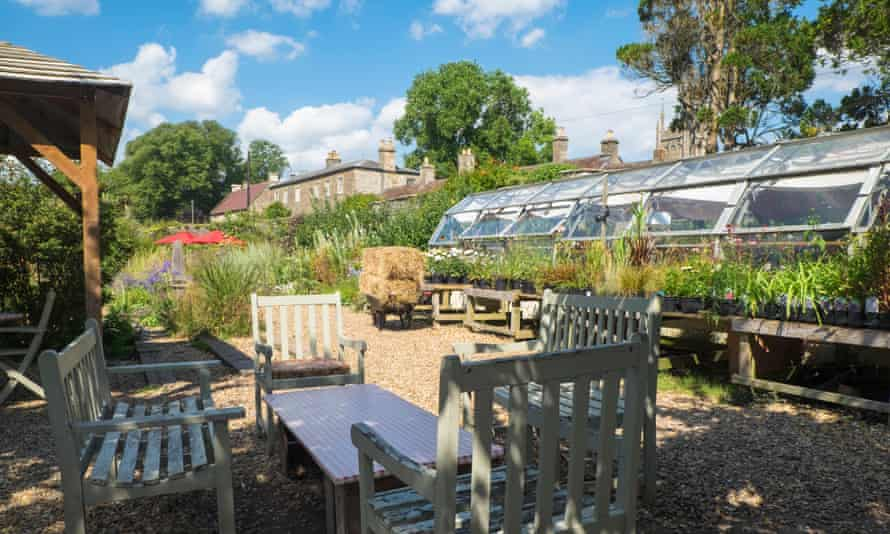 The Walled Garden cafe, Mells, UK.