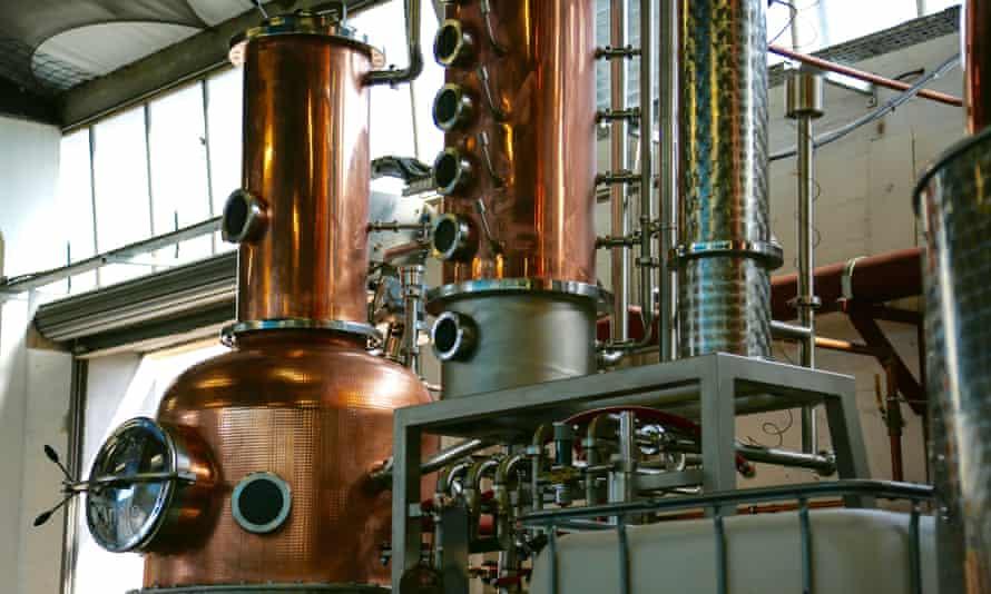Gin Still, known as Annie, at Glasgow Distillery
