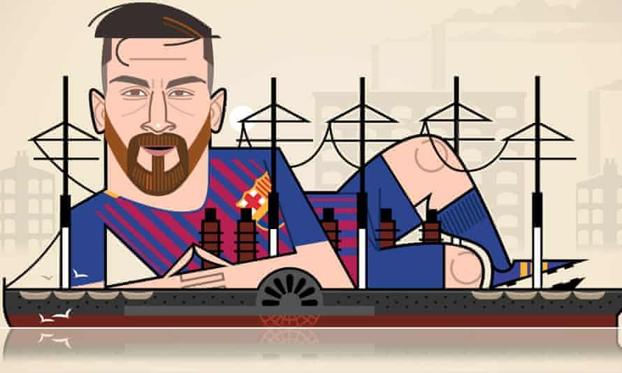 Lionel Messi illustration