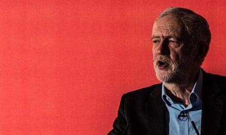 Labour party leader Jeremy Corbyn. Photograph: James Gourley/Rex/Shutterstock