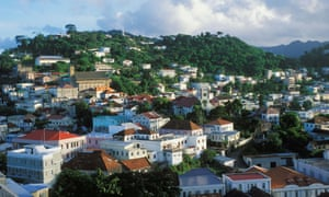 St George's, the capital of Grenada.