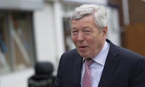 Alan Johnson at a polling station in Hull on 7 May