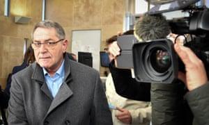 French pilot Pascal Fauret arrives at court in Aix-en-Provence