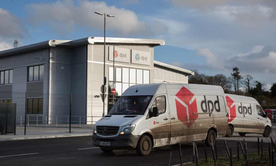The Bournemouth depot of DPD on the Ferndown industrial estate where Don Lane was a courier