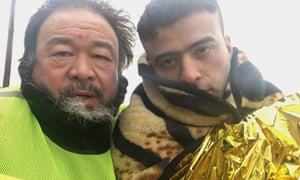 A still from Human Flow, a German documentary co-produced and directed by Ai Weiwei about the global refugee crisis.