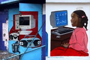 Computer murals