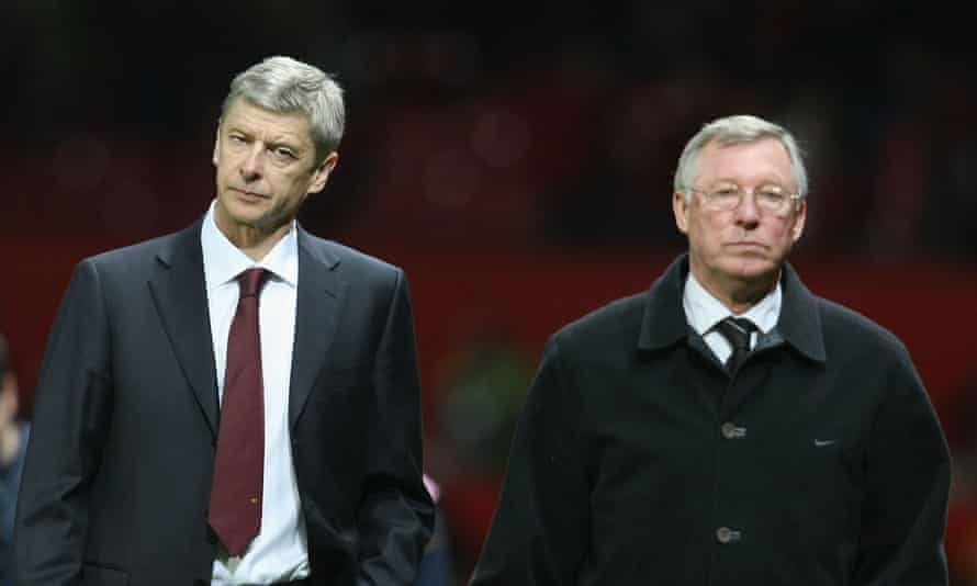 Sir Alex Ferguson and Arsène Wenger in 2009