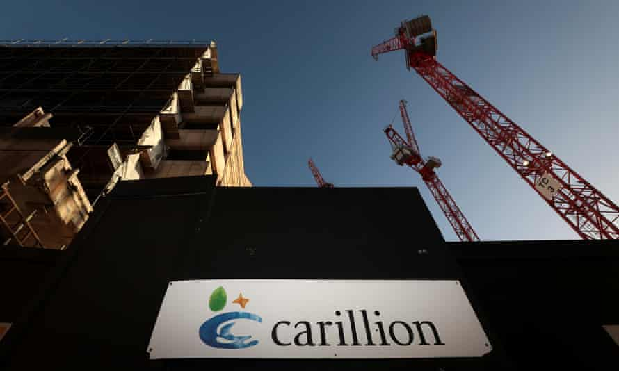 A Carillion construction site in central London