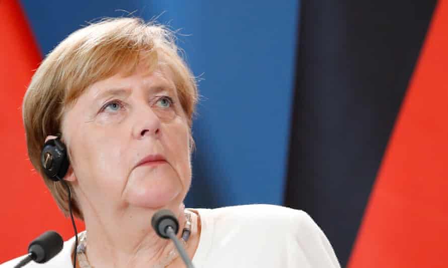 The German chancellor, Angela Merkel