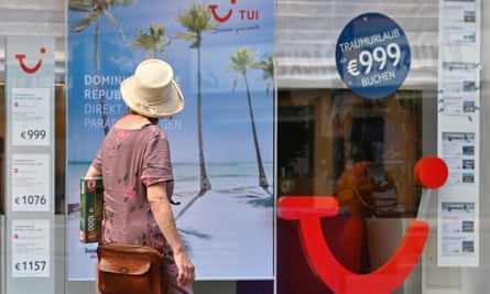 TUI, the German tourism giant, which has already announced job cuts and store closures, posted a bottom-line net loss of 1.42bn euros ($1.7 bn) in the period from April to June.
