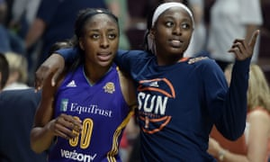 The WNBA is one of the organizations involved in the SheIs initiative