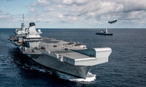 Some the component for HMS Queen Elizabeth were made at the Appledore shipyard.