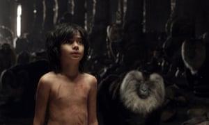 Neel Sethi as Mowgli in The Jungle Book