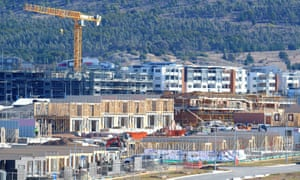 Apartments being built in Canberra.