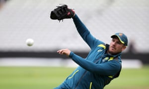 Aaron Finch casually mentioned Australia's Cricket World Cup hegemony after a net session at Edgbaston before the semi-final against England.