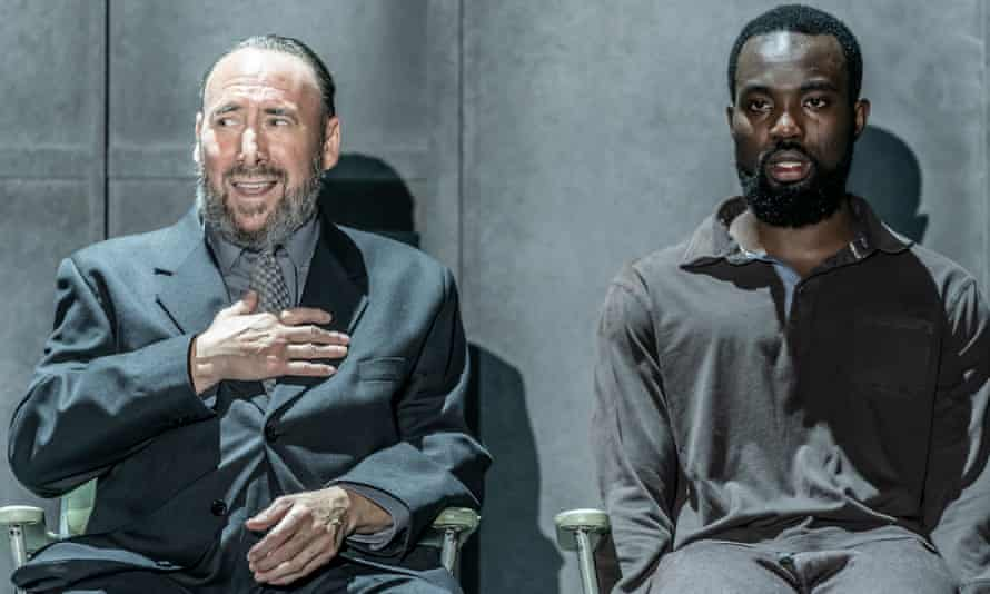 Antony Sher and Paapa Essiedu in One for the Road.
