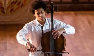 Top of the classical charts … Sheku Kanneh-Mason.