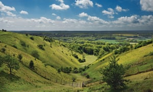 The Devils Kneading Trough on the North Downs