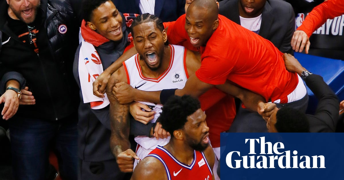 Was Kawhi Leonard S Buzzer Beater The Best Game Killer In Sports History Us Sports The Guardian