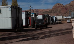 Evicted FLDS residents find refuge in converted containers.
