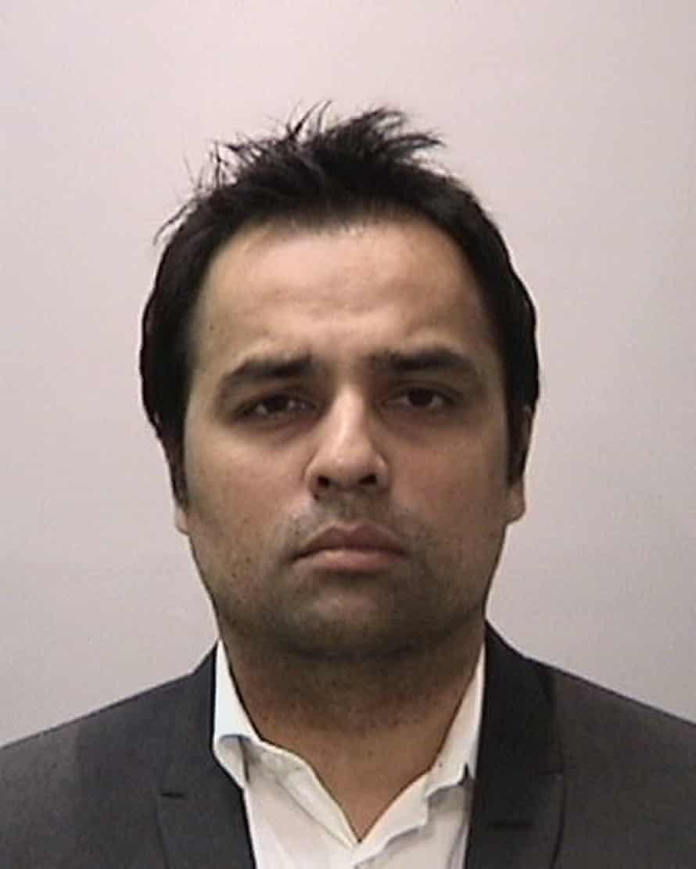 Gurbaksh Chahal's mugshot.