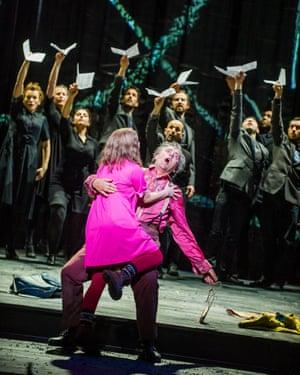 Simon McBurney's production of The Magic Flute for English National Opera
