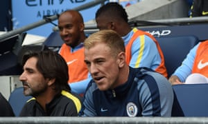 Joe Hart: 'I don't see what he has done wrong to be treated the way he has'.