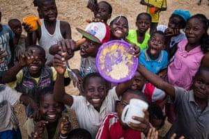 Children in Bétou, Republic of the Congo.