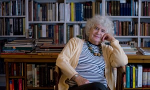 Jan Morris at home in north Wales