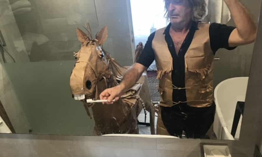 David Marriott in hotel quarantine