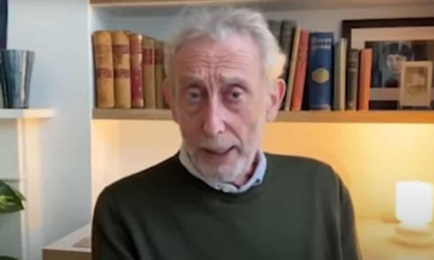 Michael Rosen on his youtube channel