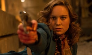 Enigmatic … Brie Larson as Justine in the film Free Fire