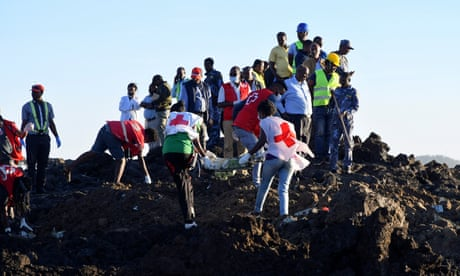 Monday briefing: Airlines ground Boeing jets after Ethiopia crash