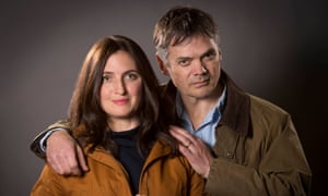 Helen Archer, played by Louiza Patikas, and her on-air husband, Rob Titchener, played by Timothy Watson
