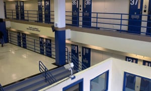 Jail cells at Rikers Island in New York. By Monday, at least 39 incarcerated people and 21 employees in New York's jails had contracted coronavirus.