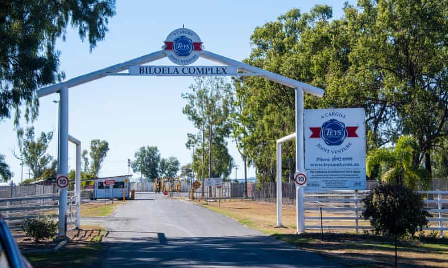 Teys meatworks in Biloela where Nades worked